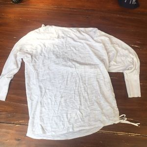 Express long sleeve w/ drawstring sz S